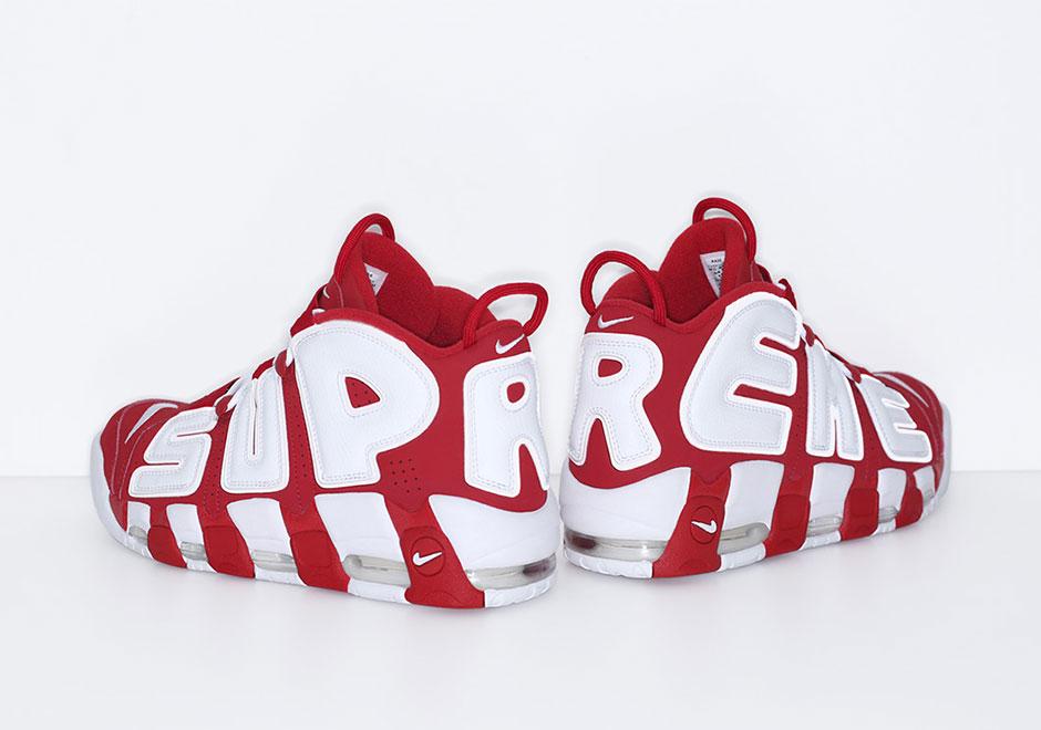 Supreme x Nike Air More Uptempo