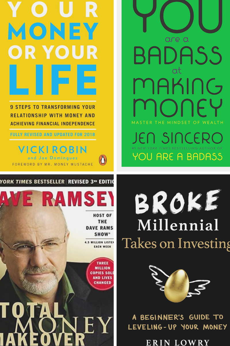 Books to level up your finance life