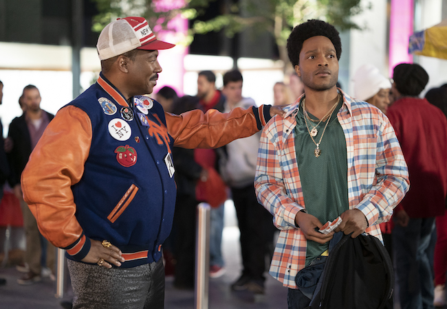 Eddie Murphy and Jermaine Fowler COMING 2 AMERICA Photo Courtesy of Amazon Studios