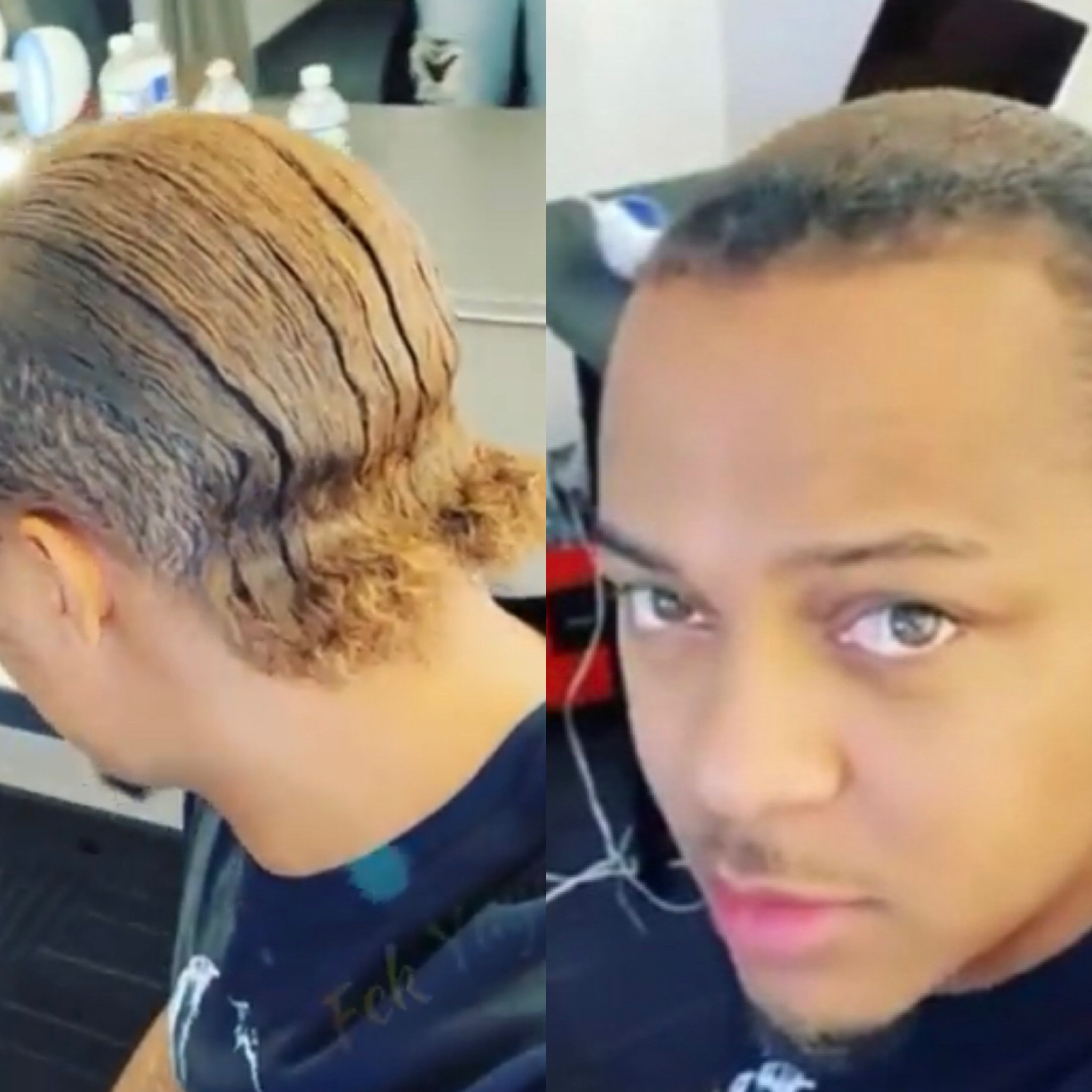 """Bow Wow Debuts New Slicked Back Hairstyle - """"My momma said I look like Billie D Williams,"""""""